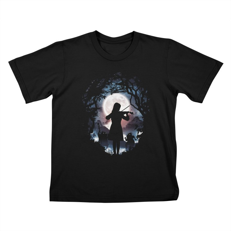 Moondance Kids T-Shirt by Niel Quisaba's Artist Shop