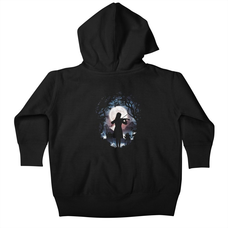 Moondance Kids Baby Zip-Up Hoody by Niel Quisaba's Artist Shop