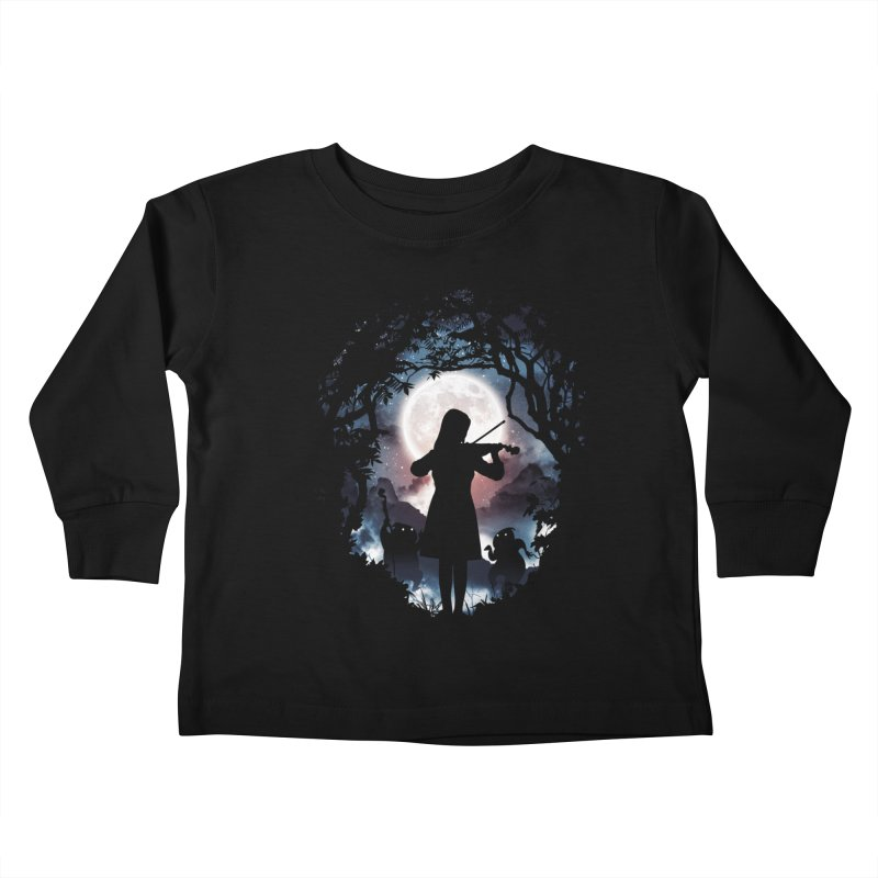 Moondance Kids Toddler Longsleeve T-Shirt by Niel Quisaba's Artist Shop