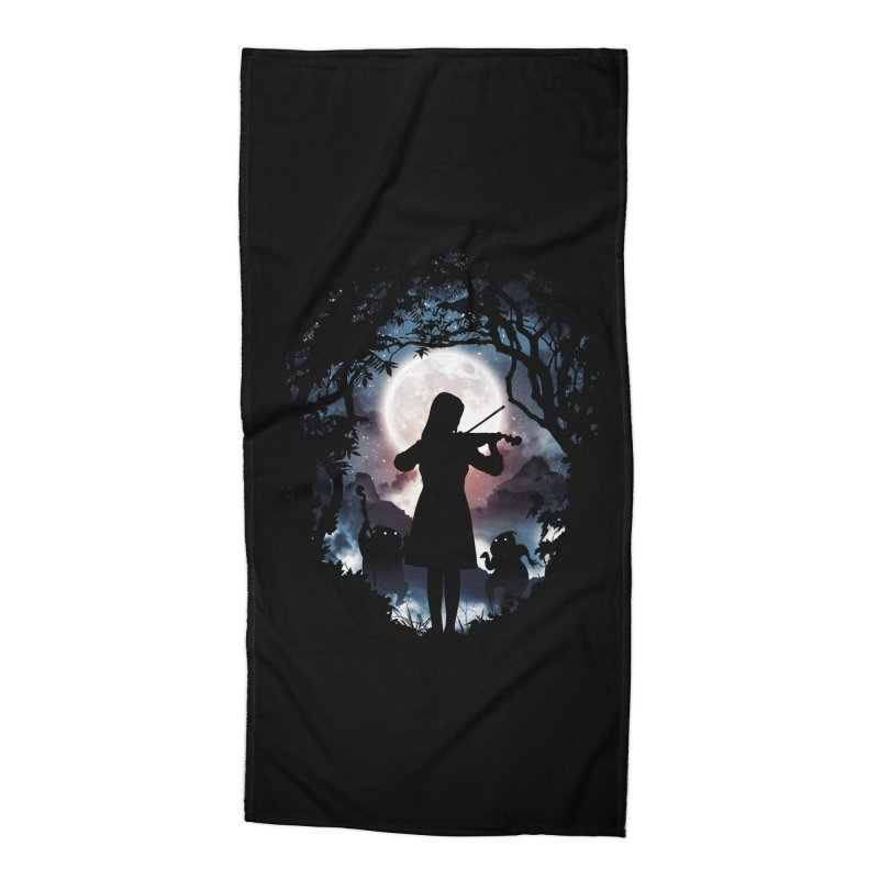Moondance Accessories Beach Towel by Niel Quisaba's Artist Shop