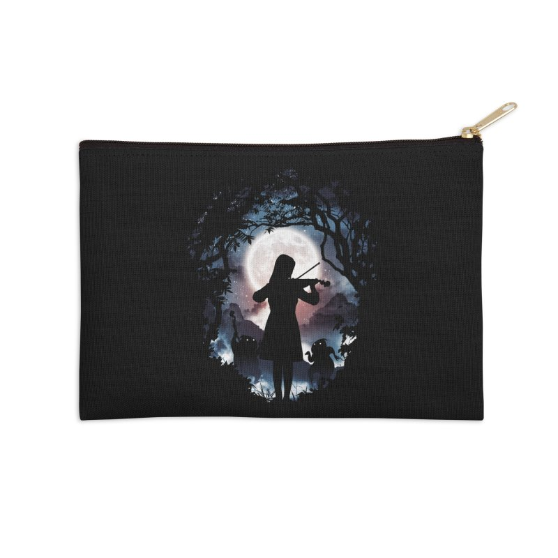 Moondance Accessories Zip Pouch by Niel Quisaba's Artist Shop