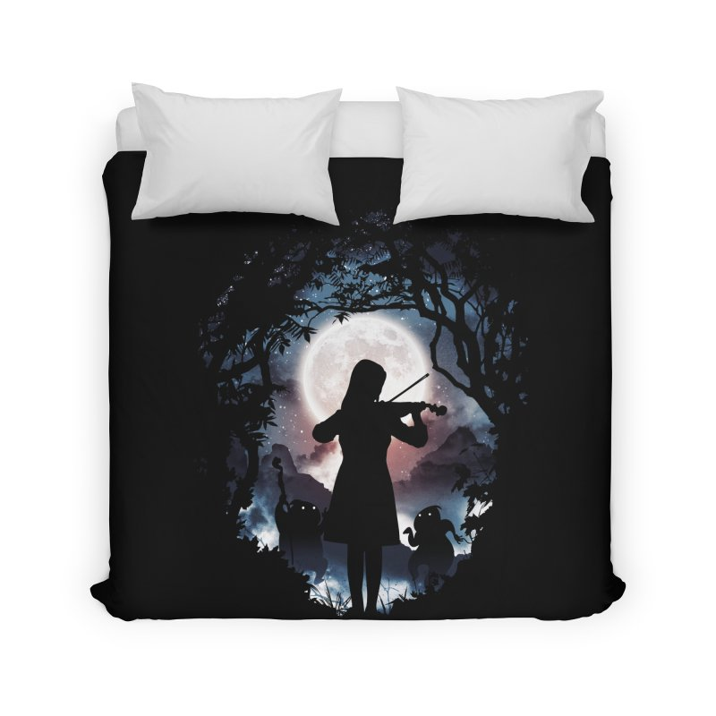 Moondance Home Duvet by Niel Quisaba's Artist Shop