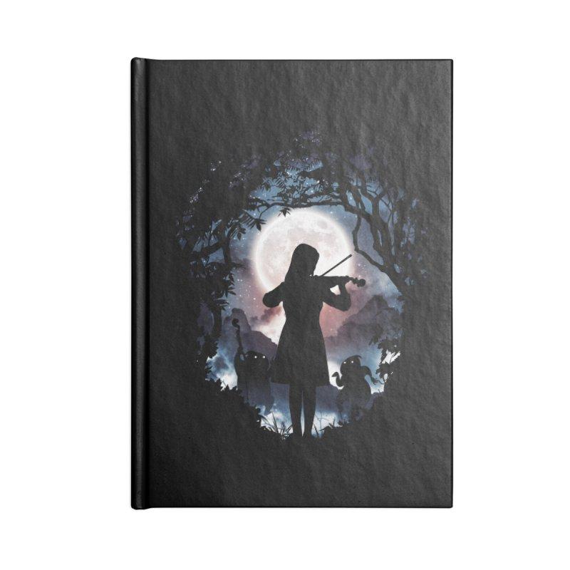 Moondance Accessories Notebook by Niel Quisaba's Artist Shop