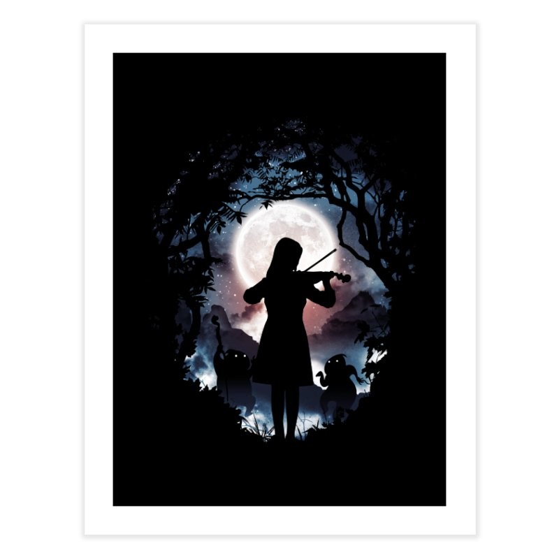 Moondance Home Fine Art Print by Niel Quisaba's Artist Shop