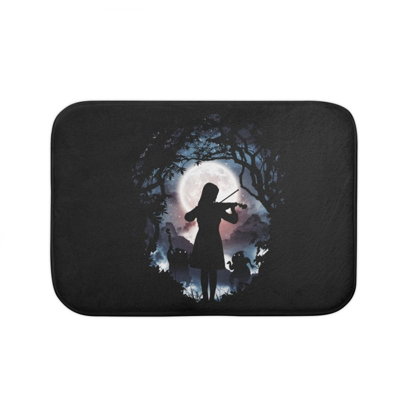 Moondance Home Bath Mat by Niel Quisaba's Artist Shop
