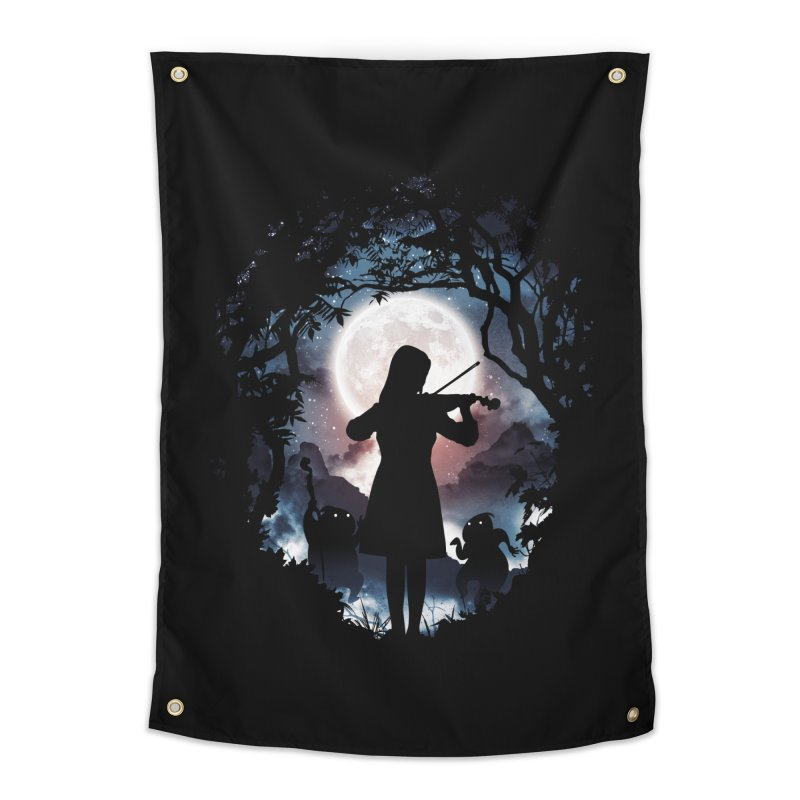 Moondance Home Tapestry by Niel Quisaba's Artist Shop
