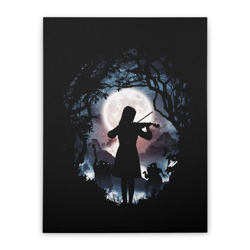 Moondance Home Stretched Canvas by Niel Quisaba's Artist Shop