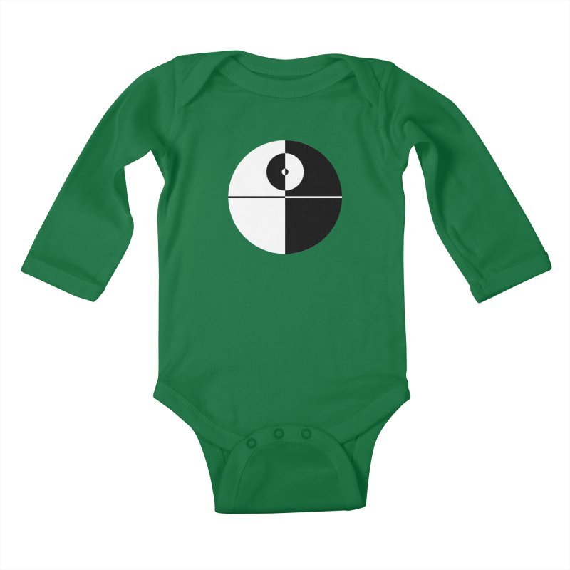 Super Weapon Kids Baby Longsleeve Bodysuit by Niel Quisaba's Artist Shop
