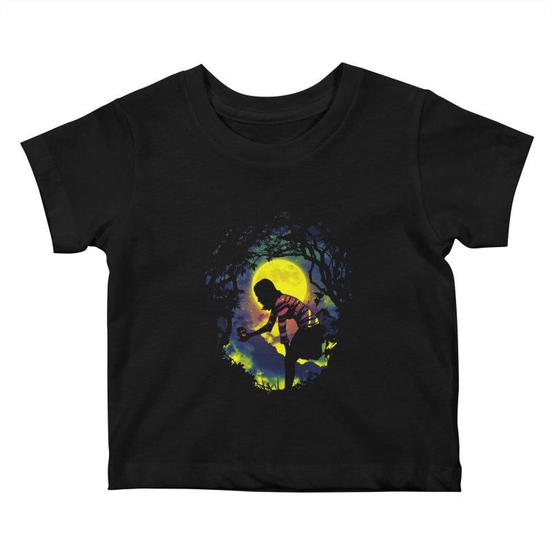 Feedmee Kids Baby T-Shirt by Niel Quisaba's Artist Shop