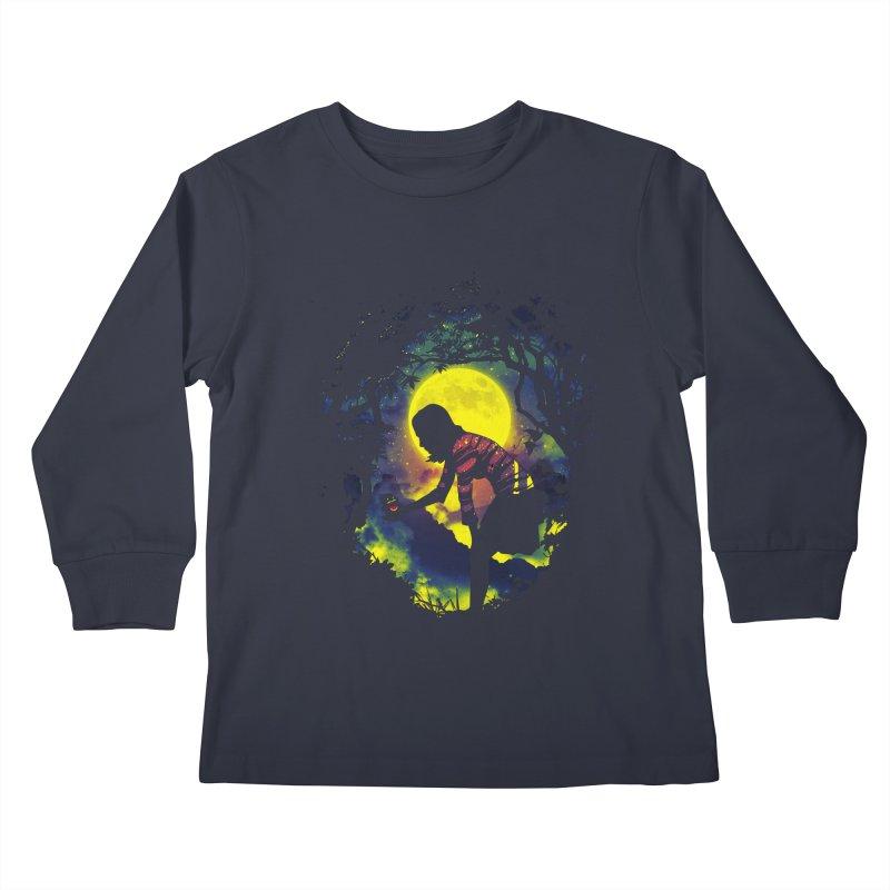 Feedmee Kids Longsleeve T-Shirt by Niel Quisaba's Artist Shop