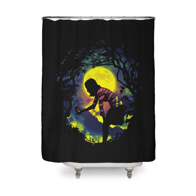 Feedmee Home Shower Curtain by Niel Quisaba's Artist Shop