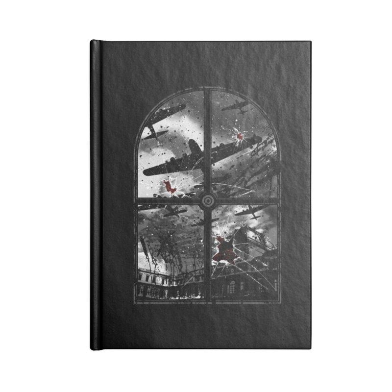 Sound the alarm Accessories Notebook by Niel Quisaba's Artist Shop