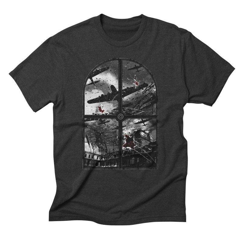 Sound the alarm Men's Triblend T-Shirt by Niel Quisaba's Artist Shop