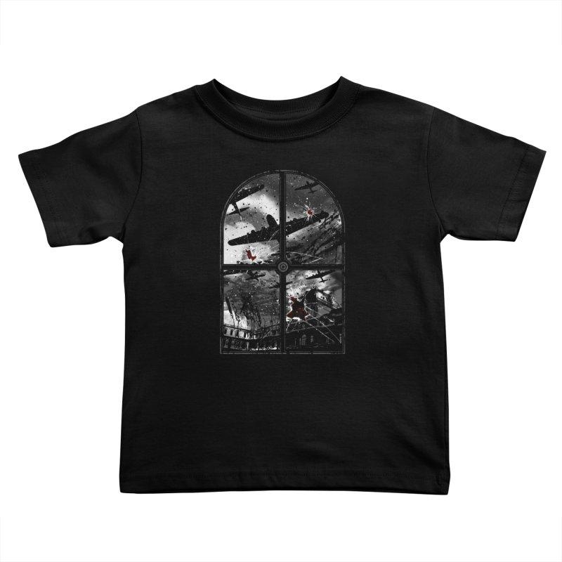 Sound the alarm Kids Toddler T-Shirt by Niel Quisaba's Artist Shop