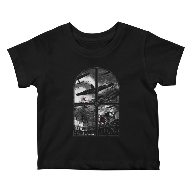 Sound the alarm Kids Baby T-Shirt by Niel Quisaba's Artist Shop