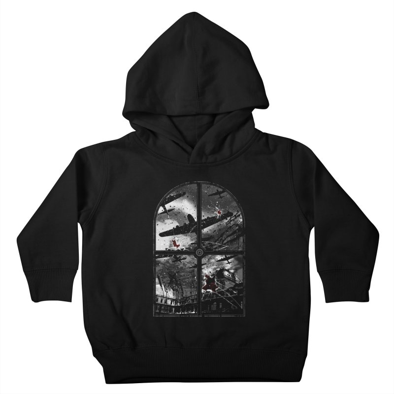 Sound the alarm Kids Toddler Pullover Hoody by Niel Quisaba's Artist Shop