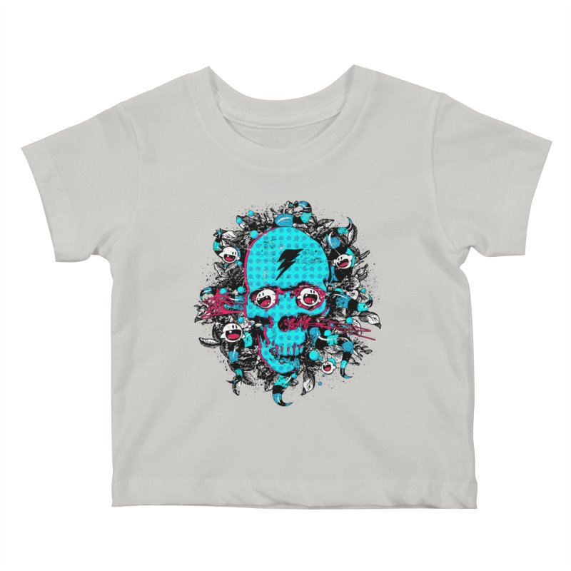 New Eyes Kids Baby T-Shirt by Niel Quisaba's Artist Shop