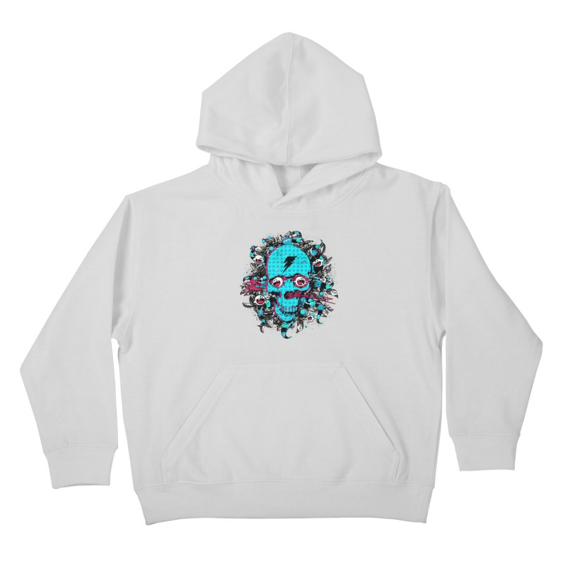 New Eyes Kids Pullover Hoody by Niel Quisaba's Artist Shop