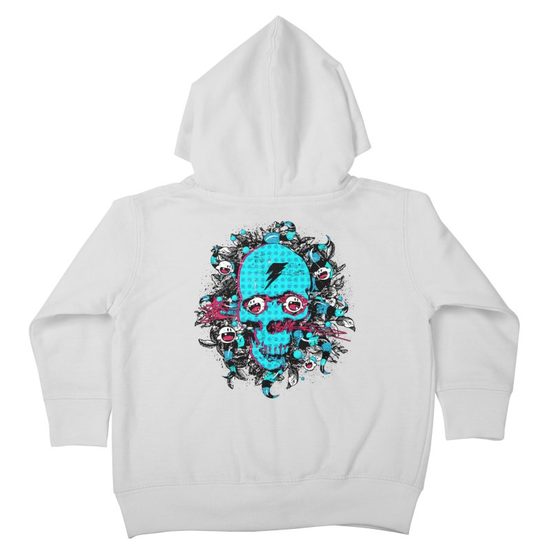 New Eyes Kids Toddler Zip-Up Hoody by Niel Quisaba's Artist Shop