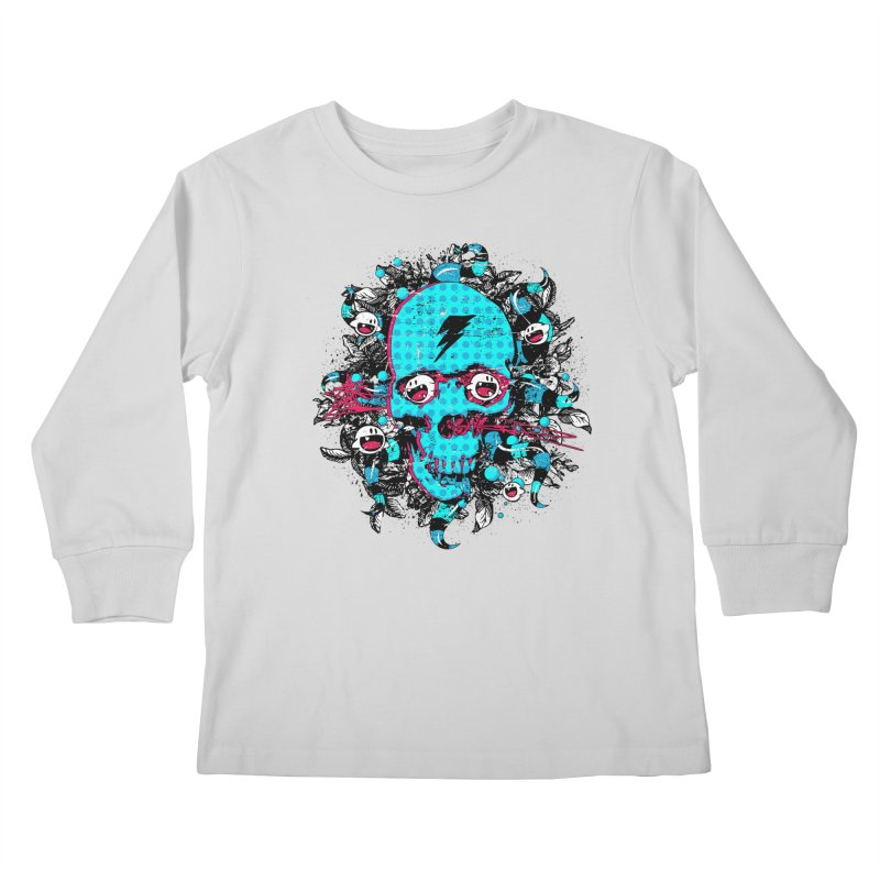 New Eyes Kids Longsleeve T-Shirt by Niel Quisaba's Artist Shop