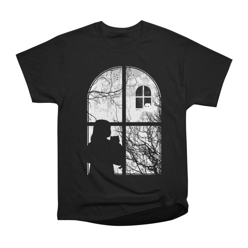Hello Strange Neighbor Women's Heavyweight Unisex T-Shirt by Niel Quisaba's Artist Shop