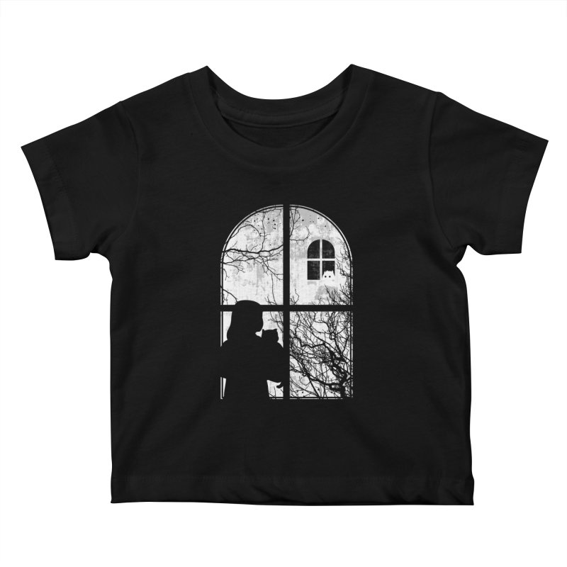 Hello Strange Neighbor Kids Baby T-Shirt by Niel Quisaba's Artist Shop