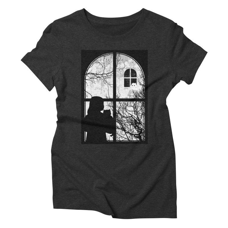 Hello Strange Neighbor Women's Triblend T-Shirt by Niel Quisaba's Artist Shop