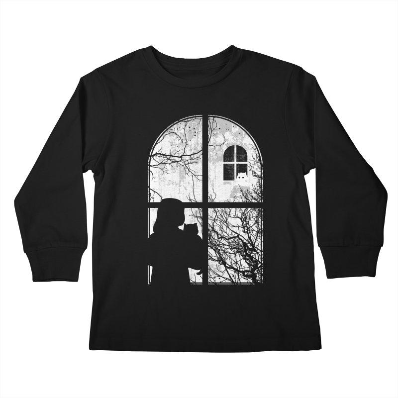 Hello Strange Neighbor Kids Longsleeve T-Shirt by Niel Quisaba's Artist Shop