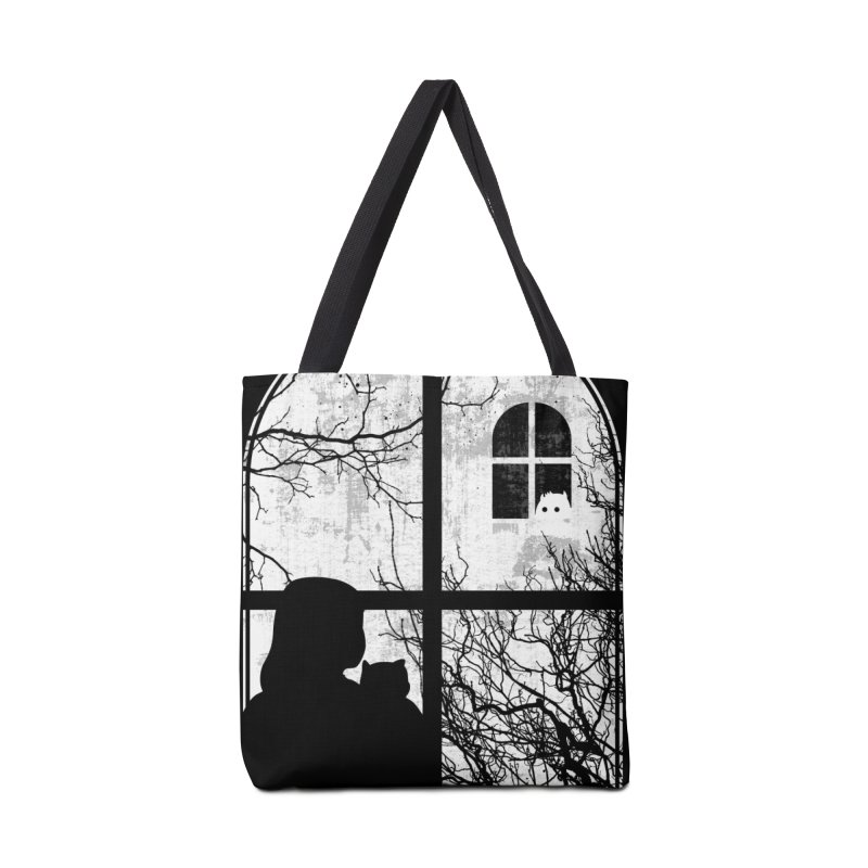 Hello Strange Neighbor Accessories Bag by Niel Quisaba's Artist Shop