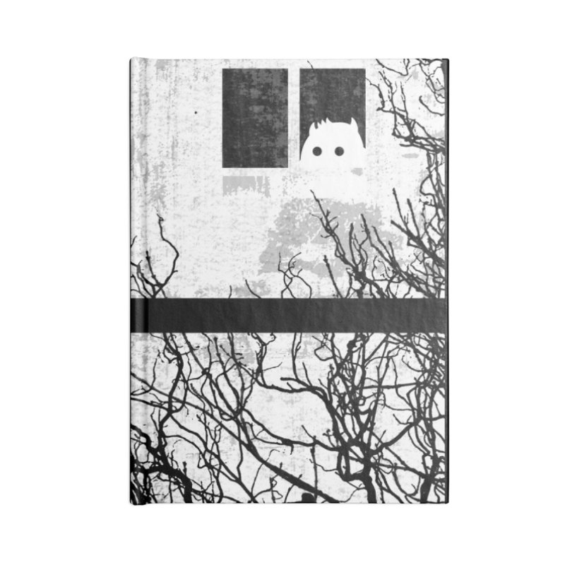 Hello Strange Neighbor Accessories Notebook by Niel Quisaba's Artist Shop