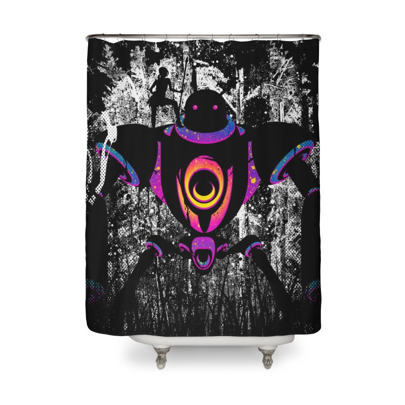 A New Ally Rises Home Shower Curtain by Niel Quisaba's Artist Shop