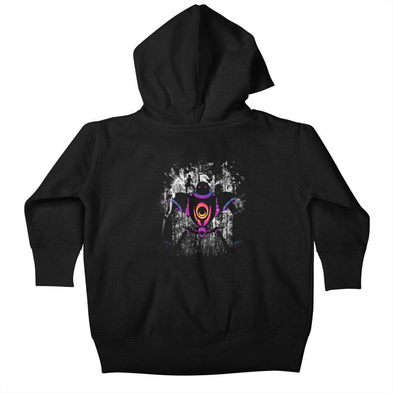 A New Ally Rises Kids Baby Zip-Up Hoody by Niel Quisaba's Artist Shop