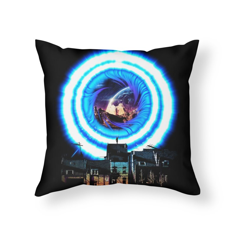 I wish wormholes were more mainstream Home Throw Pillow by Niel Quisaba's Artist Shop