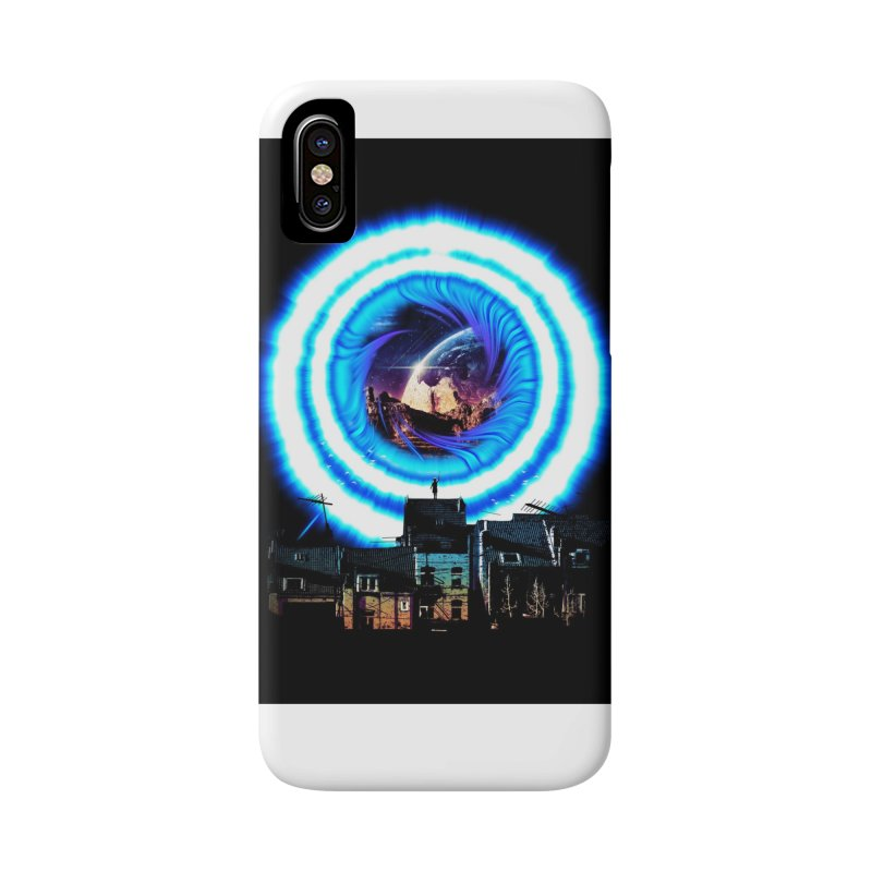 I wish wormholes were more mainstream Accessories Phone Case by Niel Quisaba's Artist Shop