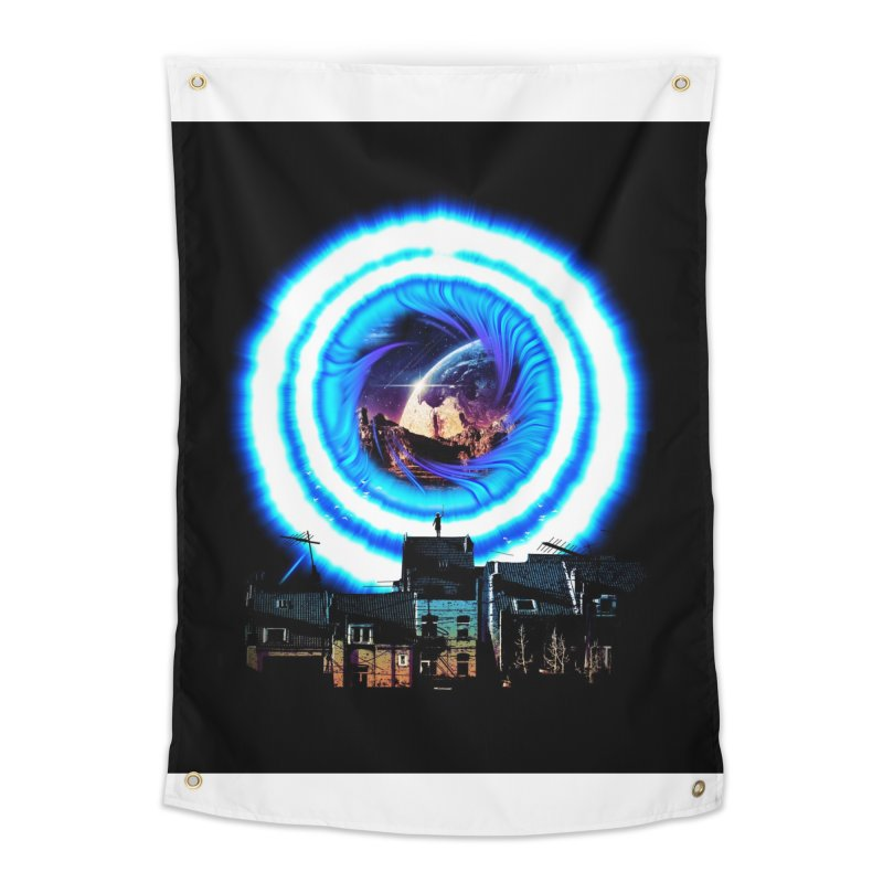 I wish wormholes were more mainstream Home Tapestry by Niel Quisaba's Artist Shop