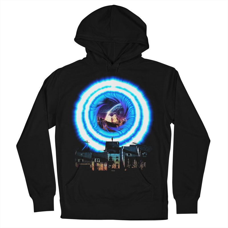I wish wormholes were more mainstream Men's Pullover Hoody by Niel Quisaba's Artist Shop
