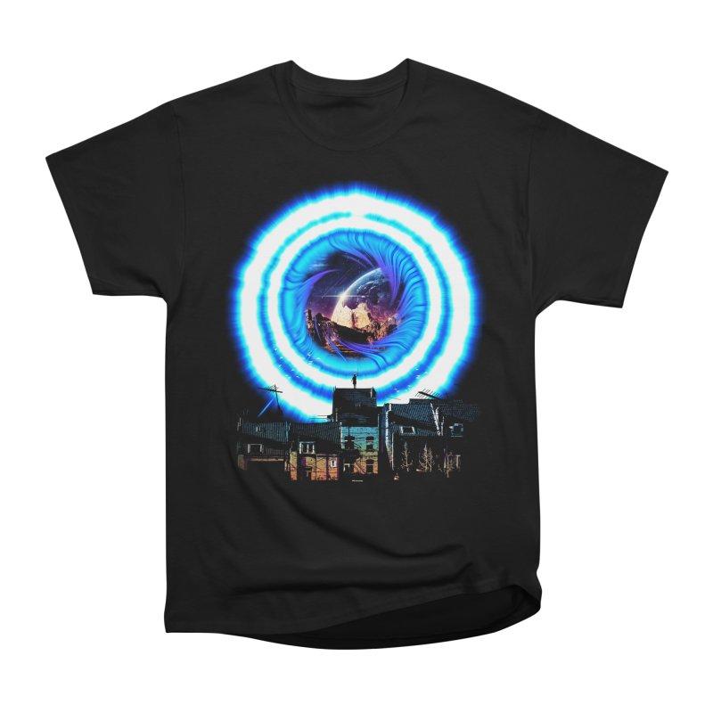 I wish wormholes were more mainstream Women's Heavyweight Unisex T-Shirt by Niel Quisaba's Artist Shop