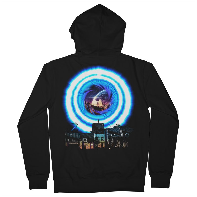 I wish wormholes were more mainstream Women's Zip-Up Hoody by Niel Quisaba's Artist Shop