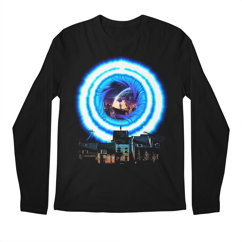 I wish wormholes were more mainstream Men's Longsleeve T-Shirt by Niel Quisaba's Artist Shop