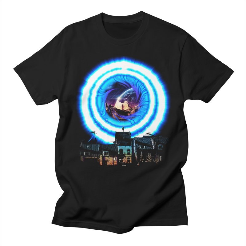 I wish wormholes were more mainstream Men's T-Shirt by Niel Quisaba's Artist Shop