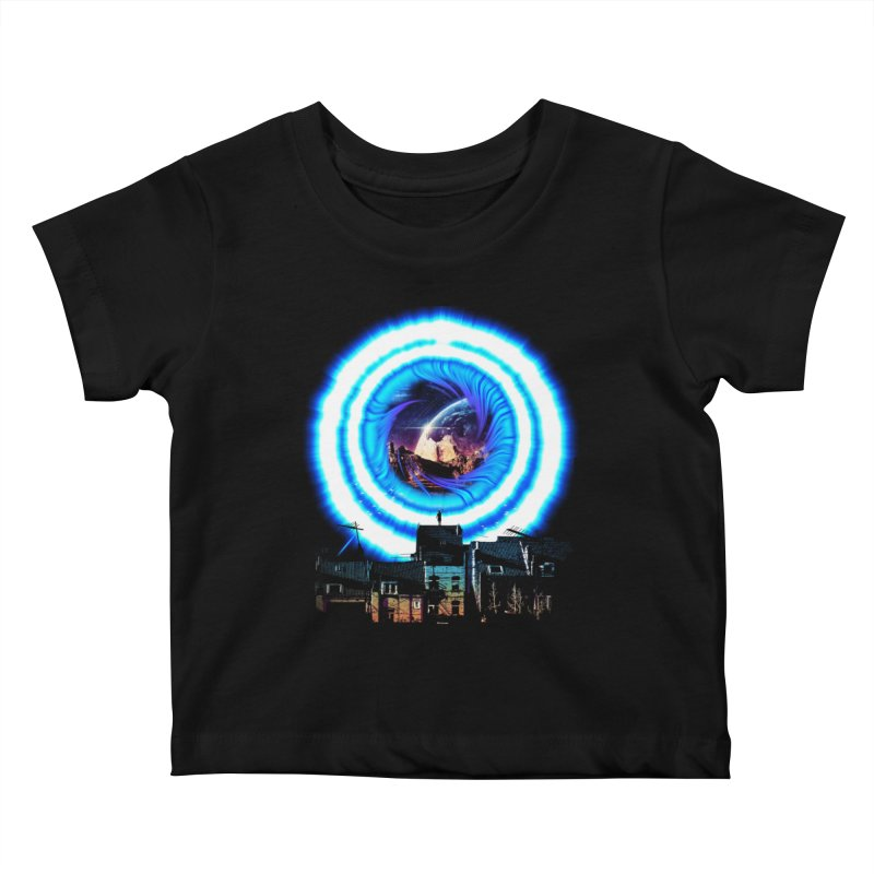 I wish wormholes were more mainstream Kids Baby T-Shirt by Niel Quisaba's Artist Shop