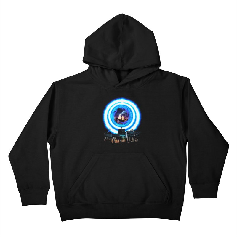 I wish wormholes were more mainstream Kids Pullover Hoody by Niel Quisaba's Artist Shop