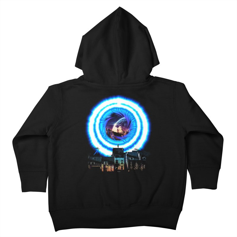 I wish wormholes were more mainstream Kids Toddler Zip-Up Hoody by Niel Quisaba's Artist Shop