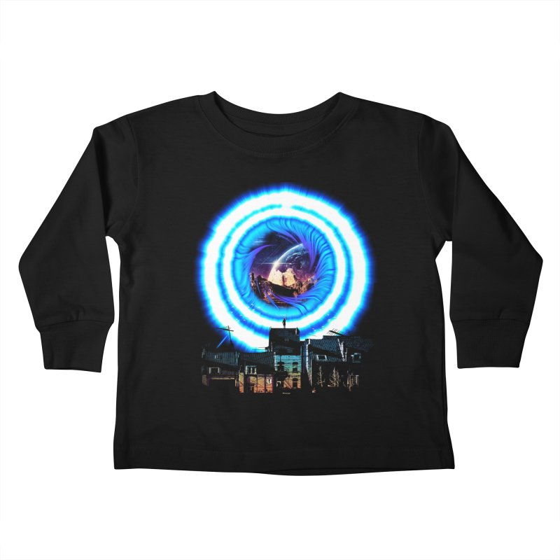 I wish wormholes were more mainstream Kids Toddler Longsleeve T-Shirt by Niel Quisaba's Artist Shop