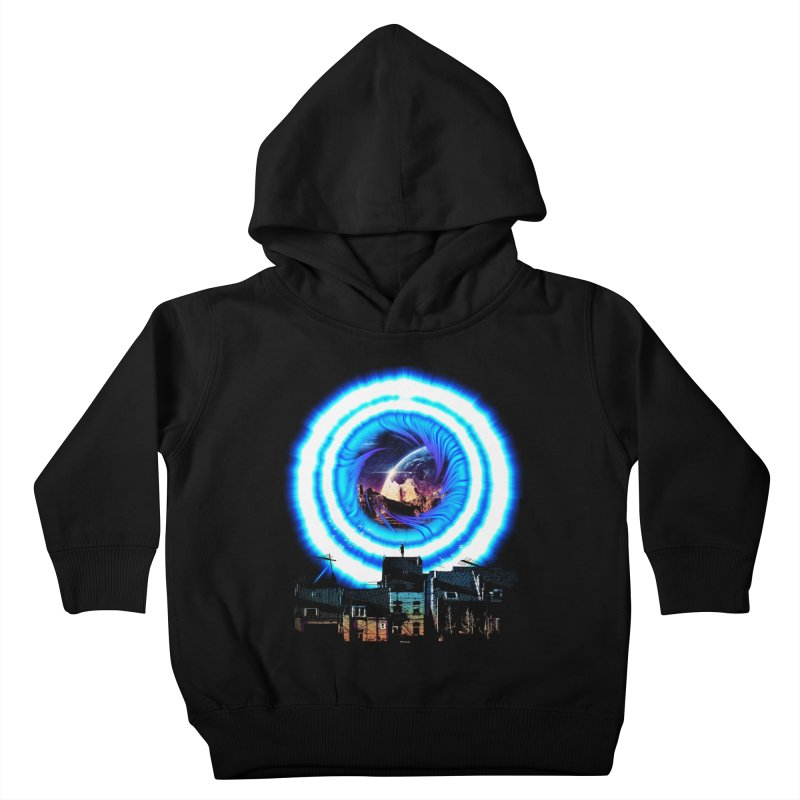 I wish wormholes were more mainstream Kids Toddler Pullover Hoody by Niel Quisaba's Artist Shop