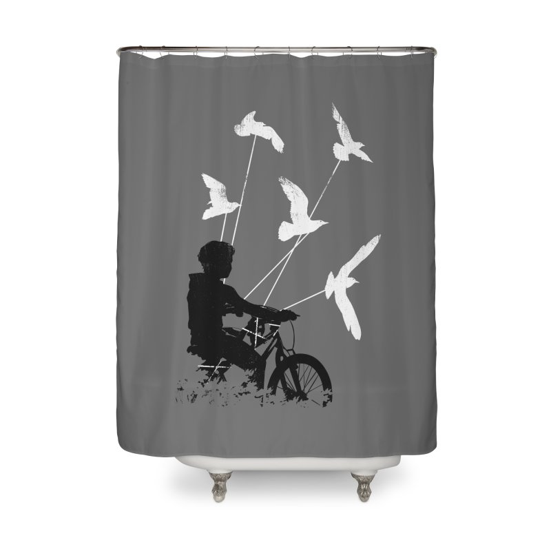 Take Me Home Home Shower Curtain by Niel Quisaba's Artist Shop