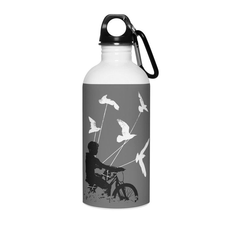 Take Me Home Accessories Water Bottle by Niel Quisaba's Artist Shop
