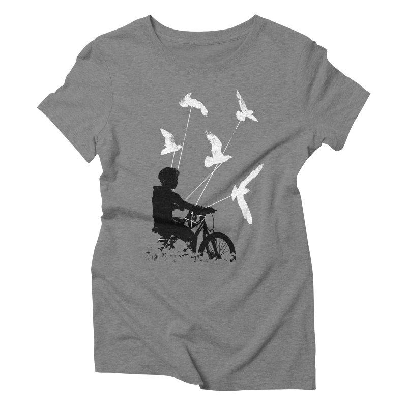 Take Me Home Women's Triblend T-Shirt by Niel Quisaba's Artist Shop
