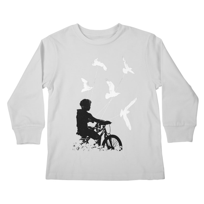 Take Me Home Kids Longsleeve T-Shirt by Niel Quisaba's Artist Shop