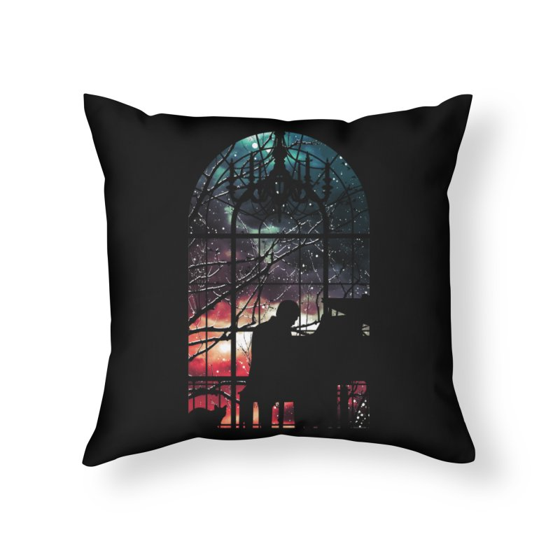 Midnight Sonata Home Throw Pillow by Niel Quisaba's Artist Shop